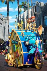 Pixar Play Parade. (LisaDiazPhotos) Tags: out toy university play finding nemo photos disneyland lisa disney parade story pixar inside monsters incredibles californiaadventure diaz