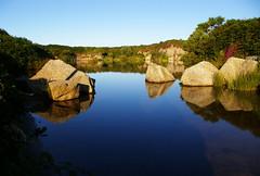 IMGP8409 (simonvanstone69) Tags: lake water cornwall quarry redruth carnmarth neargodscountry