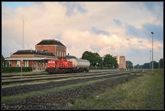 29-07-2015, Delfzijl, DBS 6417 + Zags (Koen langs de baan) Tags: