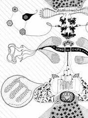 Central Dogma, Part-Dieu (Daniel Ari Friedman) Tags: art sex way technology dynamic graphic expression gene egg central progress bio sperm next line translation ap nextgeneration dna third change info hack reverse translate biology germ generation genetics quantum protein dogma rna acronym transcription genomics genomic phenotype proteomics ribosome transcribe genotype omics epigenetics endophenotype transcriptomics genoremix genomix