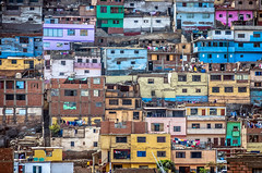 No Go Zone (pietkagab) Tags: lima rimac peru slums danger dangerous poverty hillside sancristobal houses colors southamerica city capital pietkagab photography pentax piotrgaborek pentaxk5ii travel trip tourism adventure sightseeing sunny