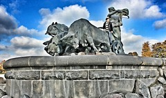 Rider (Alexandr Tikki) Tags: animal statue rider europe sky street copenhagen fun wow travel world explore