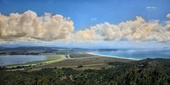 (421/16) Ensenada de O Bao y playa de la Lanzada (Pablo Arias) Tags: pabloarias photoshop nxd cielo nubes españa ensenada istmo ogrove agua mar ría pontevedra comunidadgallega