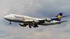 Boeing 747-8 Fanhansa (Urs Walesch) Tags: boeing fanhansa fra eddf landing plane lufthansa 747 spotting planespotting germany