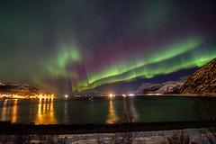 Clear skies in Bellvik and Skulsfjord (John A.Hemmingsen) Tags: auroraborealis arcticlight aurora astronomy tromsø nordnorge northernlights norway norge arctic
