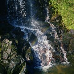 銀礦瀑布 (Steve only) Tags: rolleiflex standard model 621 carl zeiss jena 135 75cm 7535 75mm f35 noncoatedlens 白鏡 tlr fujifilm pro160c 6x6 120 mediumformat epson gtx970 v750 film landscape island 梅窩 waterfall