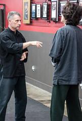 Sifu Haines Teaching Wing Chun to a young student (rpennington9) Tags: dojo kungfu wingchun martialarts dojochattanooga tennessee chattanooga nikon nikond90