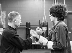 Sifu Trevor Haines Practicing Wing Chun Kung Fu with a young student (rpennington9) Tags: tennessee chattanooga nikon sifu kungfu martialart d90 nikond90 dojochattanooga