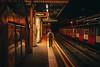 Way out (przemyslawkrzyszczuk) Tags: london londyn uk britain england anglia brytania city miasto blue dark night life style lifestyle light citylights swiatlo canon 6d ludzie people street ulica londoner londynczycy out way wyjscie train metro tube underground man black red