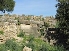 Stones of ruined wall, Volubilis, Morocco (Paul McClure DC) Tags: morocco almaghrib fèsmeknèsregion volubilis jan2017 roman architecture historic scenery