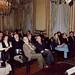 José Luis López-Aranguren Jiménez, filósofo español, sentado en primera fila, segundo por la izda., en el acto homenaje a Juan David García Bacca (1992)