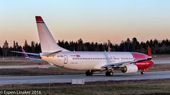 EI-FHL Norwegian Air International Boeing 737-8JP(WL) - cn 42078 / 5575 (Otertryne2010) Tags: 2016 2k16 boeing engm gardermoen norway norwegianairshuttle osl oslo norwegian 7378jpwl