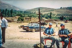The Market Place III (Normann Photography) Tags: 1992 fntjeneste kontigent29 lebanon marketplace opelrekord peacecorps unservice unifil unitednations unitednationsinterimforceinlebanon classiccar compactfilmcamera peacekeepers hasbaya nabatieh lb