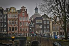 Standing tall (farflungistan) Tags: canon7d winter201617 amsterdam hdr holland nederland netherlands tamron prinsengracht amsterdamcanals