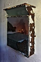 Ghost (f@gra) Tags: fantasma ghost espejo mirror candle vela indoor urbex sony sigma galicia spain abandones abandono