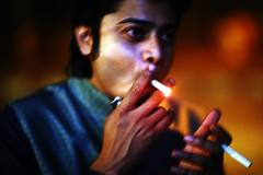 Double Draw (N A Y E E M) Tags: wasim mrmapia cigarette smoke lastnight street agrabad chittagong bangladesh waistlevel availablelight