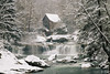 Snowy (zachary.locks) Tags: babcock cold cool covered creek fresh glade grist iconic mill park snow snowing state trees waterfalls westvirginia white winter wv zlocks