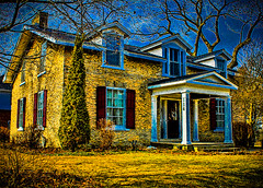 The Susanna Moodie House in HDR