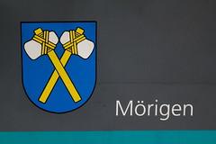 ASM Aare - Seeland - Mobil  Gelenktriebwagen GTW Be 2/6 5022 mit Taufname Mörigen ( Inbetriebnahme 1997 - Hersteller Stadler Rail - Ex BTI Biel – Täuffelen – Ins - Bahn - Triebzug Triebwagen ) am Bahnhof Biel - Bienne im Kanton Bern der Schweiz (chrchr_75) Tags: albumzzz201701januar christoph hurni chriguhurni chrchr75 chriguhurnibluemailch januar 2017 albumbahnenderschweiz201716 albumbahnenderschweiz schweizer bahnen eisenbahn bahn schweiz suisse switzerland svizzera suissa swiss albumbahnasmaareseelandmobil asm albumbahnbtibieltäuffeleninsbahn bti biel täuffelen ins berner seeland kanton bern kantonbern
