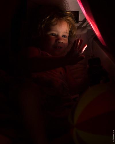 Para descobrir a luz é preciso de escuridão