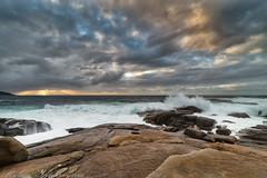 Atardecer en Muxía (Rubén Santamaría Fotografía) Tags: muxia costadamorte costa da morte galicia paisaje atardecer sunset nikon d600 samyang naturaleza oceano atlantico