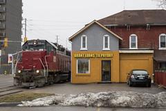 Got Cash? (Joseph Bishop) Tags: necr 3840 burfordspur brantford trains train track tracks railfan railroad railway rail rails rlhh sor southernontariorailway