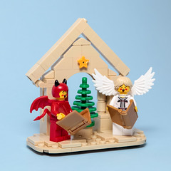 Christmas Decoration (Galaktek) Tags: galaktek lego minifig foitsop