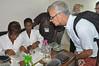 BoT members visit new Semi-Autotrophic Hydroponic (SAH) Cassava Plant Propagation Facility (IITA Image Library) Tags: cassava manihotesculenta semiautotrophic hydroponic propagation