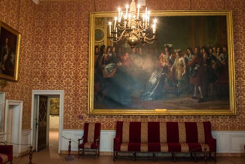 La salle François 1er au Château de Chambord