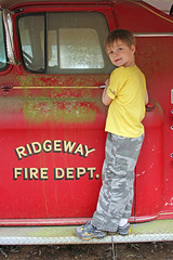 ridgewayboy (babyfella2007) Tags: ridgeway sc south carolina fire engine truck firetruck greek revival house architecture water tank vintage antique old town child boy jason taylor carson young brick teacherage school victorian porch column gmc chevrolet classic southern garden gun explore pretty historic history mansion classical