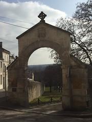 Entrance to a fancy hotel, but not originally (KLGreenNYC) Tags: entrances stonework gates angouleme france