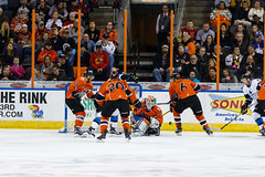 "Missouri Mavericks vs. Wichita Thunder, February 3, 2017, Silverstein Eye Centers Arena, Independence, Missouri.  Photo: John Howe / Howe Creative Photography • <a style=""font-size:0.8em;"" href=""http://www.flickr.com/photos/134016632@N02/32591261521/"" target=""_blank"">View on Flickr</a>"