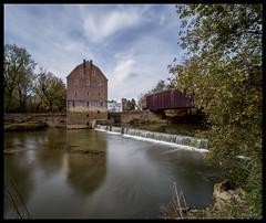 Bollinger Mill and Burfordville Covered Bridge - No. 1 (Nikon66) Tags: bollingermill burfordvillecoveredbridge coveredbridge mill whitewaterriver waterfall burfordville missouri nikon d800