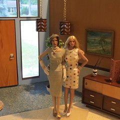 IMG_6720 (Mid Century Phicen) Tags: midcentury phicen diorama retro atomic fashiondoll 16scale playscale