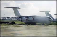 RA-76426 - Moscow Zhukovsky (ZHU) 17.08.2001 (Jakob_DK) Tags: 2001 maks2001 zia uubw moscow moscowzhukovsky ilyushin ilyushin76 ilyushin76td il76 il76td candid cargo ashkab