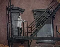 (Goggla) Tags: new york nyc window fire escape cigarette smoker greatjones goglog