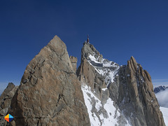 The goal (HendrikMorkel) Tags: mountains alps mountaineering chamonix alpineclimbing arêtedescosmiques arcteryxalpineacademy2015