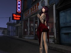 On Converse Row... (Vylna Daviau) Tags: fashion sl secondlife p infiniti rm flashfiction endlesspain letistattoo dselles