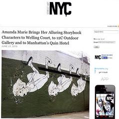 Amanda Marie at Welling Court (LoisInWonderland) Tags: nyc streetart queens astoria publicart amandamarie wellingcourtmuralproject