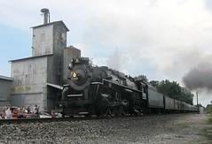 wabash cannonball 158 (Fan-T) Tags: road lima elevator grain engine plate steam nickel berkshire 284 765