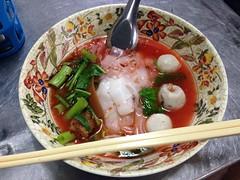 Yentafo (Ryo.T) Tags: thailand bangkok thaifood    yaowarat  chinetown
