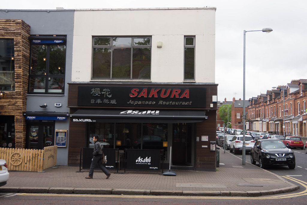 BELFAST CITY MAY 2015 [SAKURA JAPANESE RESTAURANT] REF-106430