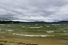 wind and water (birgithm) Tags: lake water norway femunden
