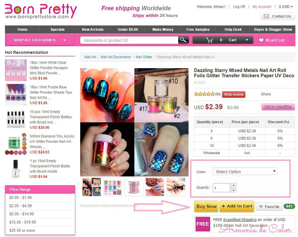 Comprar en Born Pretty Store 5