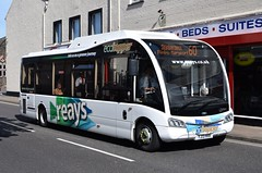 YJ13HHR  Reays, Wigton (highlandreiver) Tags: bus buses coach solo cumbria hybrid carlisle coaches penrith workington egremont cityhopper wigton optare reays yj13hhr ecohopper