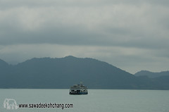 Ferry to Koh Chang (Sawadee Koh Chang) Tags: thailand boat koh chang ferrie