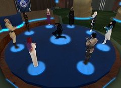 7_26_15 Varyk Master Ceremony On One Knee 14 (elyssa.moonshadow) Tags: life people star starwars sl jedi second wars yavin roleplay