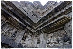 Yogjakarta17 (房 Fongky) Tags: sculpture monument rock architecture indonesia temple worship shrine place stones stonework statues holy sacred hinduism relics basrelief prambanan candi centraljava yogjakarta