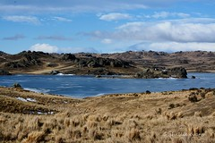 Poolburn Dam, Ida Valley, Central Otago, NZ (flyingkiwigirl) Tags: road old people horse snow weather landscape frozen fishing track outdoor dam central dry lord reservoir huts lotr rings otago plains rohan dunstan maniototo poolburn rohirrim
