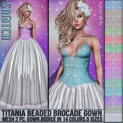 Sn@tch Titania Gown Vendor Ad LG (Tess-Ivey Deschanel) Tags: sntch snatch secondlife sl sexy style second life iveydeschanel ivey deschanel ihearts clothing clubwear clothes cyberpunk casual christmas holiday winter wintertrend wintersolstice jeans gothic goth games punk pixels gown hair
